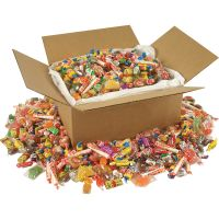 Office Snax All Tyme Favorites Candy Mix, Individually Wrapped, 10 lb Value Size Box OFX00085
