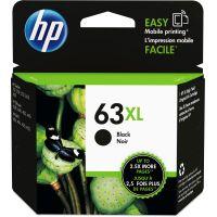 HP 63XL, (F6U64AN) High Yield Black Original Ink Cartridge HEWF6U64AN