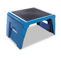 Cramer Folding Step Stool, 300lb Cap, 14w x 11 1/4d x 9 3/4h, Blue CRA50051PK63