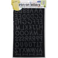 "Soft Flock Iron-On Letters 1"" Lemonade NOTM103191"