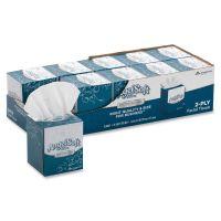 Angel Soft ps Ultra Facial Tissue, 2-Ply, White, 7 3/5 x 8 1/2, 96/Box, 10 Boxes/Carton GPC4636014