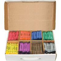 Prang wax crayons, large size, 50/carton DIX32351