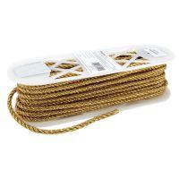 "Large Metallic Twisted Cord 1/4""X18yd NOTM438613"