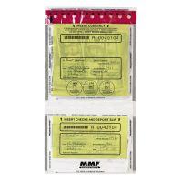 MMF Industries FraudStopper Twin-Pocket Deposit Bags MMF2362500N20