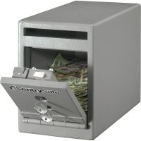 Sentry Safe Dual Key Lock Under Counter Safe SENUC025K