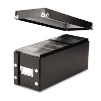 Snap-N-Store Media Storage Box, Holds 60 Slim/30 Standard Cases IDESNS01521
