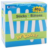 Woodsies Jumbo Craft Sticks NOTM428087