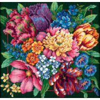 Floral Splendor Needlepoint Kit NOTM261946