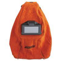 Jackson Safety* HUNTSMAN Leather Welding Helmet, Rust HUN14531