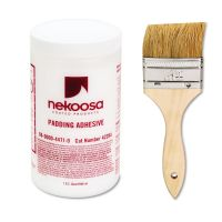 Nekoosa Coated Products Fan-out Padding Adhesive, 32 oz, Liquid NEK42284