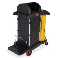 Rubbermaid Commercial High Security Cleaning Cart RCP9T7500