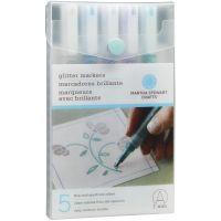 Glitter Markers 4/Pkg NOTM479863