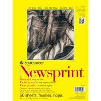 Strathmore Newsprint Paper Pad NOTM136479