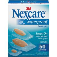 Nexcare Waterproof Bandages 50/Pkg NOTM439945