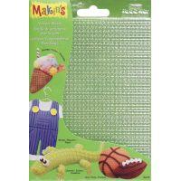 "Makin's Clay Texture Sheets 7""X5.5"" 4/Pkg NOTM156492"