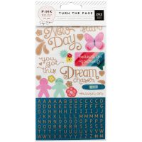 Paige Evans Turn The Page 4-Page Sticker Book NOTM098658