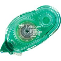 """Tombow MONO Removable Adhesive Applicator, 1/3"""" x 472"""", Roller TOM62108"""