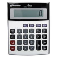 Innovera Portable Minidesk Calculator, 8-Digit LCD IVR15927