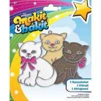 Makit & Bakit Glittering Kittens Suncatcher   NOTM436632