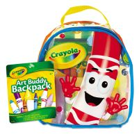 Crayola Art Buddy Backpack, 38 Pieces, Ages 4 and Up CYO045350