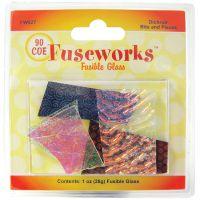 Fuseworks Dichroic Glass Bits 1oz NOTM385977