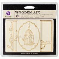 Wooden ATC Cards NOTM361019