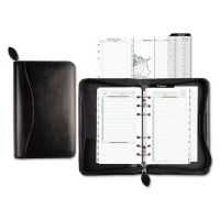 Day-Timer Recycled Bonded Leather Starter Set, 8 4/5 x 5 1/2 x 1 1/2, White DTM41746