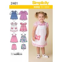 Simplicity Toddlers Dresses NOTM495449