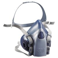 3M Half Facepiece Respirator 7500 Series, Reusable MMM7503