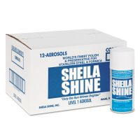 Sheila Shine Stainless Steel Cleaner & Polish, 10oz Aerosol, 12/Carton SSI1CT