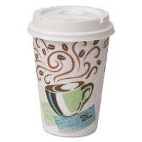 Dixie Paper Hot Cups & Lids Combo Bag, 12oz, 50/Pack DXE5342COMBO600