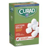 "Curad Sterile Cotton Balls, 1"", 130/Box MIICUR110163"