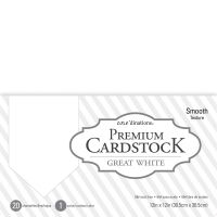 "Core'dinations Value Pack Smooth Cardstock 12""X12"" 20/Pkg NOTM239940"