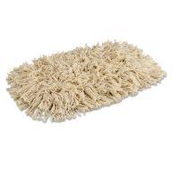 Boardwalk Mop Head, Dust, Cotton, 12 x 5, White BWK1312