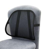 Safco Mesh Backrest, 17-1/2w x 3-1/8d x 15h, Black SAF7153BL