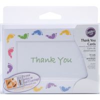 Thank You Card Kit Makes 20 NOTM216324