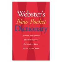 Webster's New Pocket Dictionary HOU1019934
