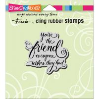"""Stampendous Cling Stamp 4.75""""X4.5"""" NOTM215387"""