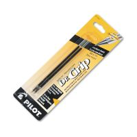 Pilot Refill, Better/EasyTouch/Dr Grip Retract Ballpoint, Med, Black, 2/Pack PIL77227
