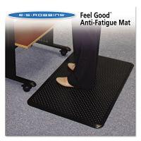 ES Robbins Feel Good Anti-Fatigue Floor Mat, 24 x 36, PVC, Black ESR184552