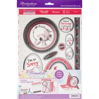 Hunkydory Moments & Milestones A4 Topper Set NOTM392313