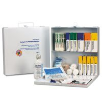 First Aid Only First Aid Station for 50 People, 196-Pieces, OSHA Compliant, Metal Case FAO226U