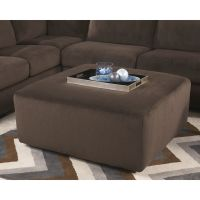 Flash Furniture Signature Design by Ashley Jessa Place Oversized Ottoman in Chocolate Fabric FHFFSD6049OTTCHOGG
