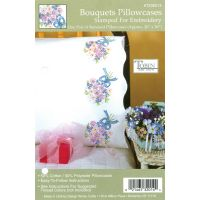 "Stamped Pillowcase Pair For Embroidery 20""X30"" NOTM318912"