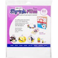 "Inkjet Shrink Film 8.5""X11"" 50/Pkg NOTM042943"