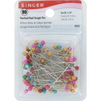Pearlized Straight Pins NOTM080657