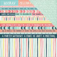 """Party Time Double-Sided Cardstock 12""""X12"""" NOTM455501"""