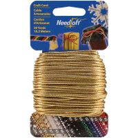 Needloft Novelty Craft Cord 20yd NOTM051640