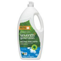Seventh Generation Natural Dishwashing Liquid, 50 oz Bottle, Unscented SEV22724EA