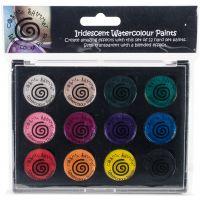Cosmic Shimmer Iridescent Watercolor Palette Set 2 NOTM248189